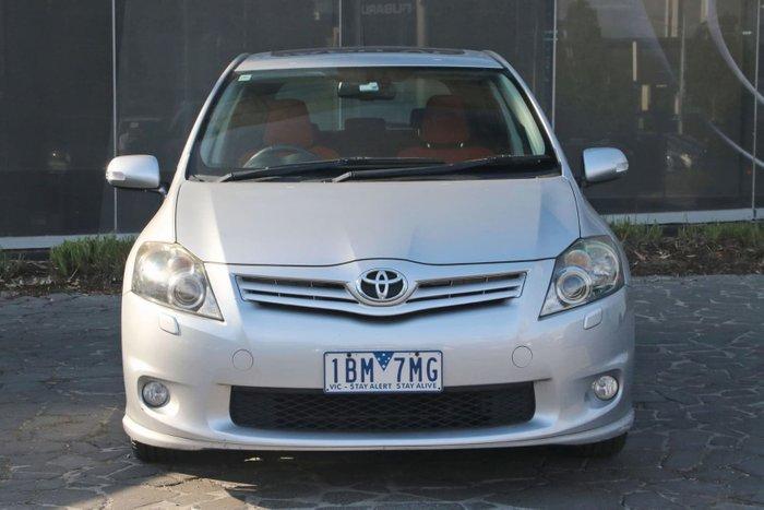 2012 Toyota Corolla Levin ZR ZRE152R Silver