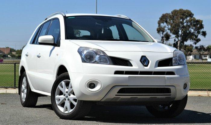 2010 Renault Koleos Dynamique H45 MY10 4X4 On Demand WHITE