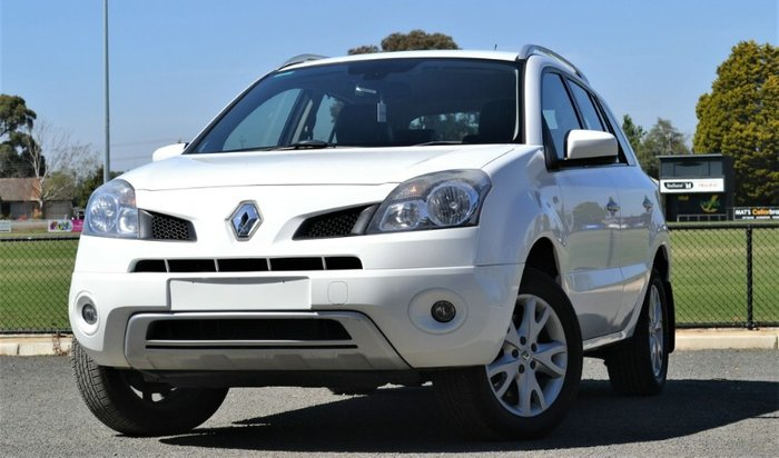2010 Renault Koleos Dynamique H45 MY10 4X4 On Demand WHITE