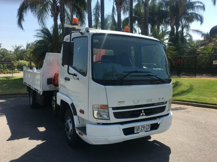 2008 MITSUBISHI FIGHTER FK61FH FIGHTER 1024 null null WHITE