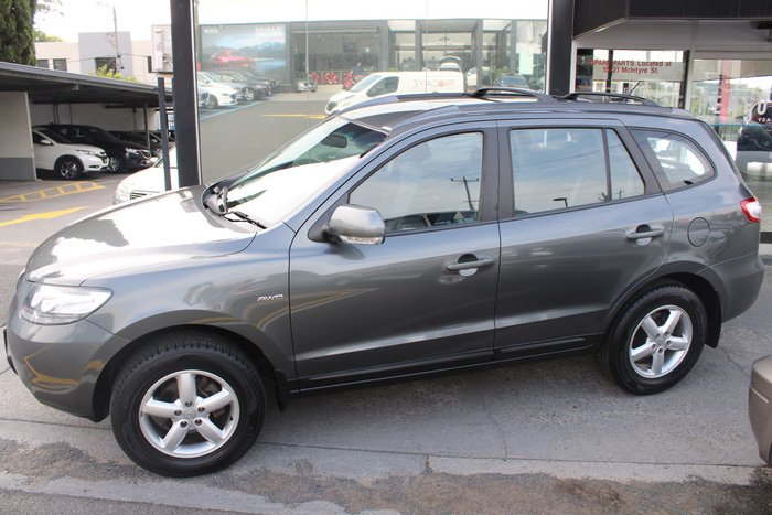 2009 Hyundai Santa Fe SX CM MY09 4X4 On Demand Grey