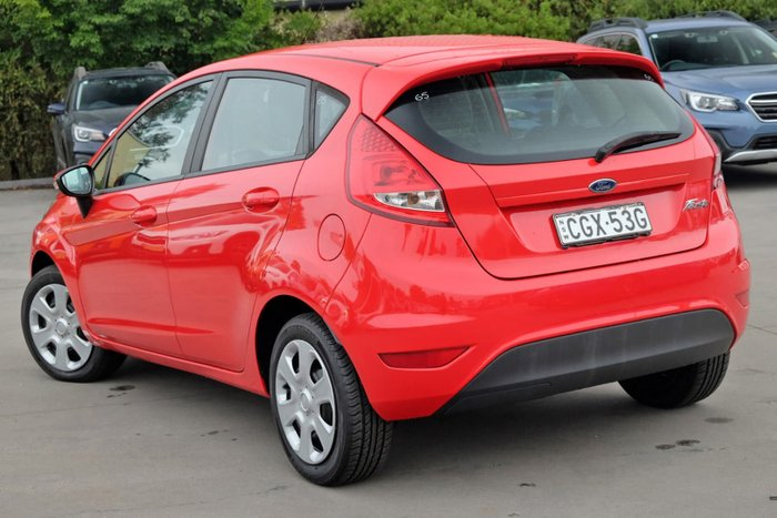 2012 Ford Fiesta LX WT Red