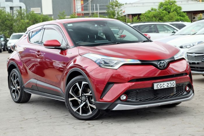 2017 Toyota C-HR Koba NGX50R 4X4 On Demand Red