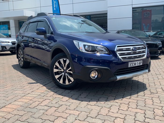 2016 Subaru Outback 2.5i Premium 5GEN MY16 Four Wheel Drive Blue