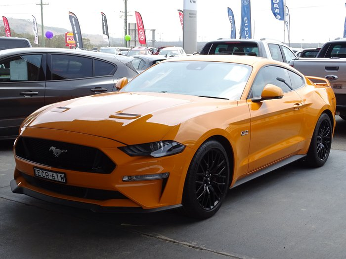 2019 Ford Mustang GT FN MY19 Orange