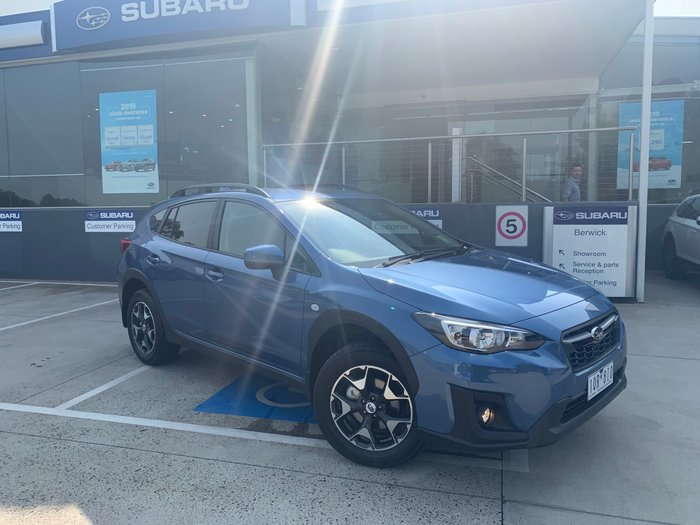 2019 Subaru XV 2.0i Limited Edition G5X MY19 Four Wheel Drive Blue