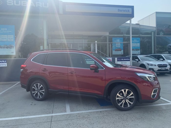 2019 Subaru Forester 2.5i Premium S5 MY20 Four Wheel Drive Red