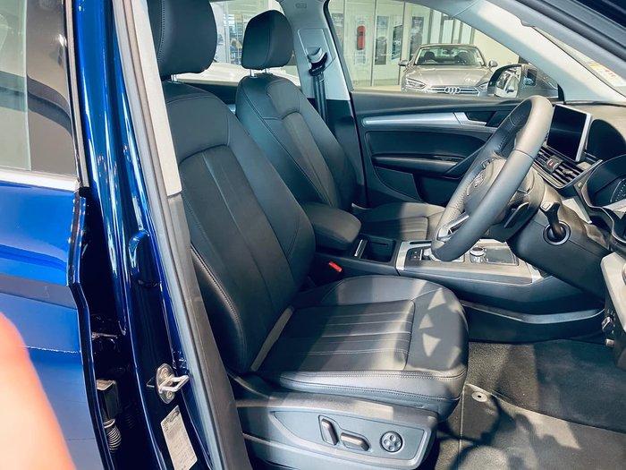 2019 Audi Q5 40 TDI design FY MY20 4X4 On Demand Blue