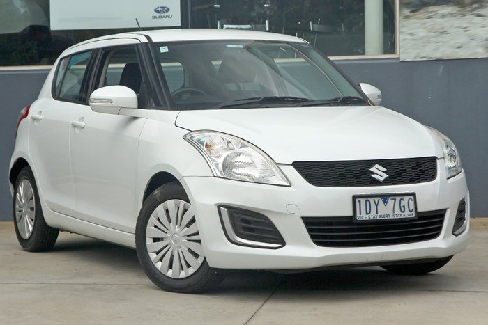 2015 Suzuki Swift GL FZ MY15 White