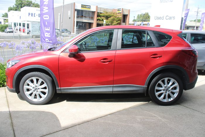 2012 Mazda CX-5 Grand Touring KE Series Four Wheel Drive Red