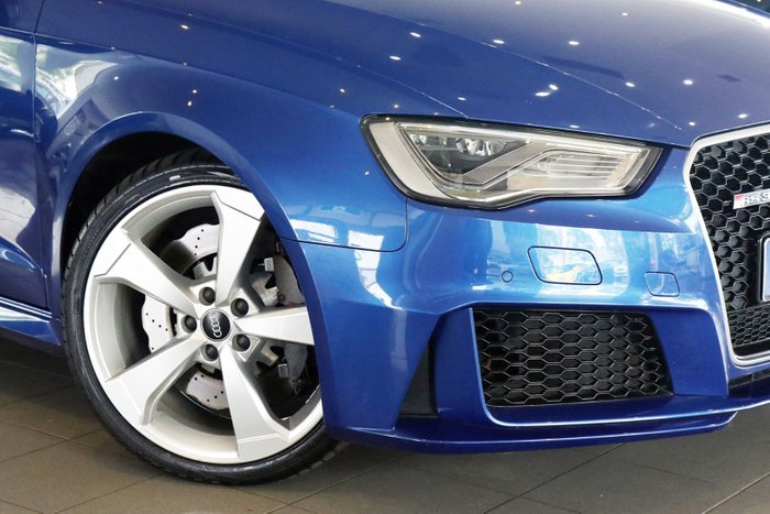 2016 Audi RS3 8V MY16 Four Wheel Drive Blue