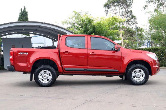 2014 Holden Colorado LX RG MY14 4X4 Dual Range Red