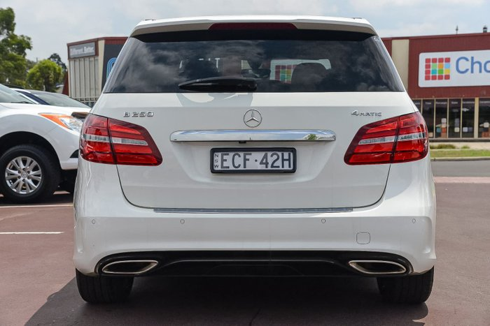 2015 Mercedes-Benz B-Class B250 W246 Four Wheel Drive White