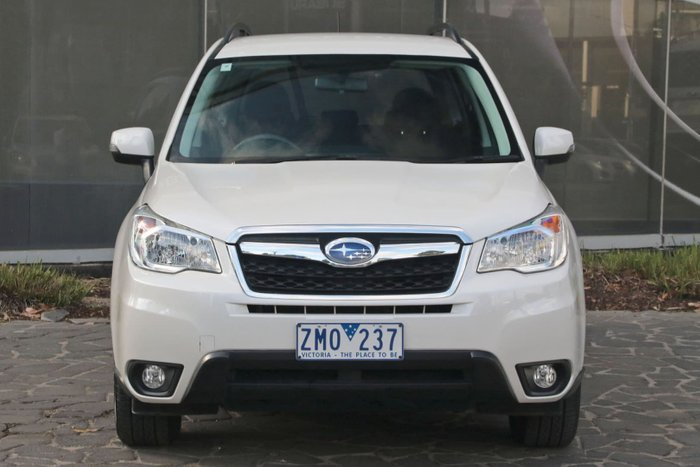 2012 Subaru Forester 2.5i-L S4 MY13 Four Wheel Drive White