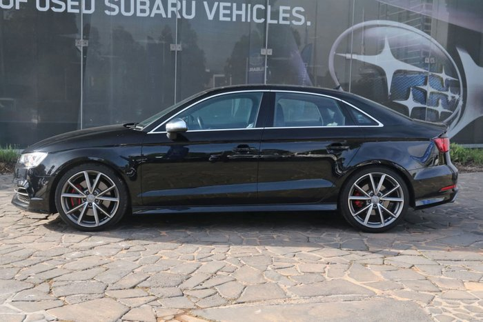 2015 Audi S3 8V MY15 Four Wheel Drive Black
