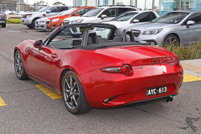 2016 Mazda MX-5 GT ND Red