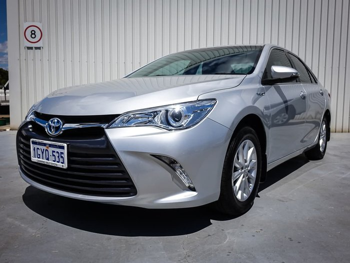 2017 Toyota Camry Altise AVV50R Silver