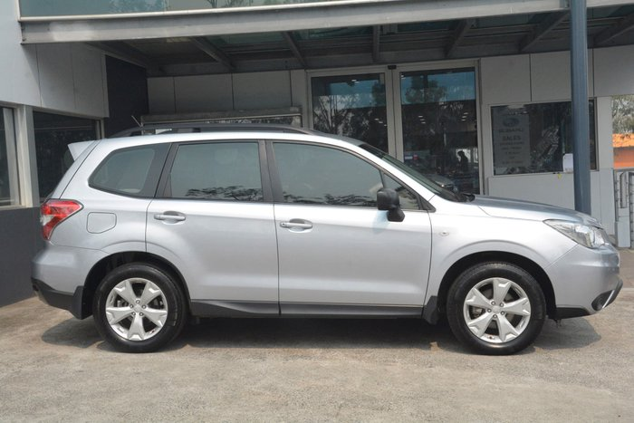2013 Subaru Forester 2.5i S4 MY13 Four Wheel Drive Silver