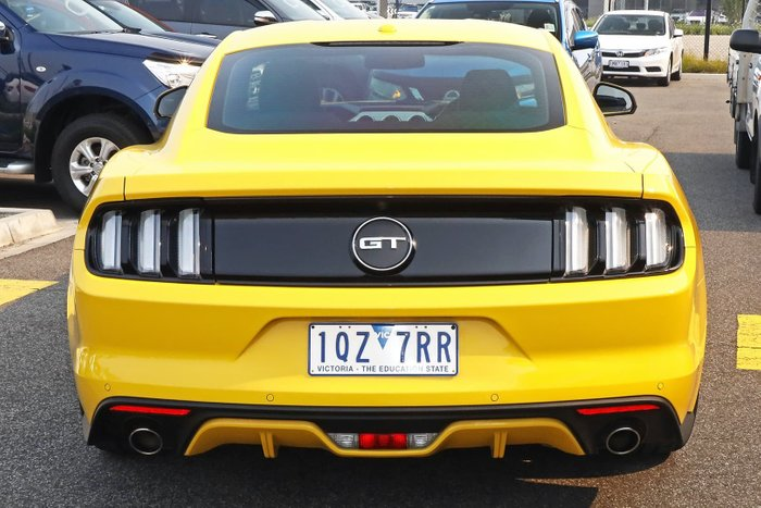 2017 Ford Mustang GT FM MY17 Yellow