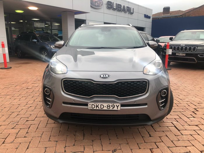 2016 Kia Sportage SLi QL MY16 Brown