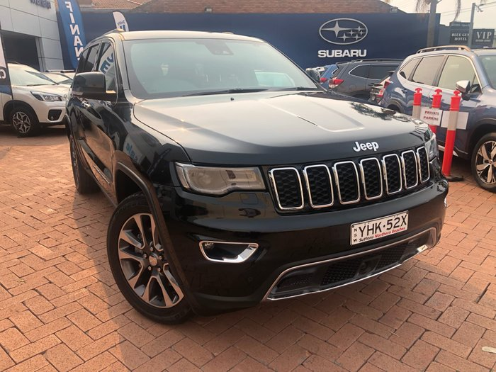 2017 Jeep Grand Cherokee Limited WK MY17 4X4 Dual Range Black