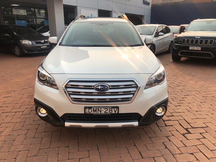 2016 Subaru Outback 2.0D Premium 5GEN MY16 Four Wheel Drive White