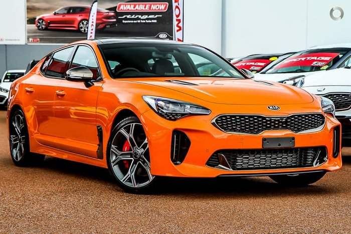 2020 Kia Stinger GT CK MY20 Orange