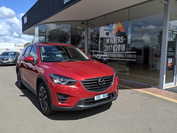 2015 Mazda CX-5 Akera KE Series 2 4X4 On Demand Red
