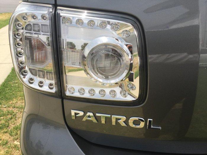 2018 Nissan Patrol Ti-L Y62 Series 4 4X4 Dual Range Grey