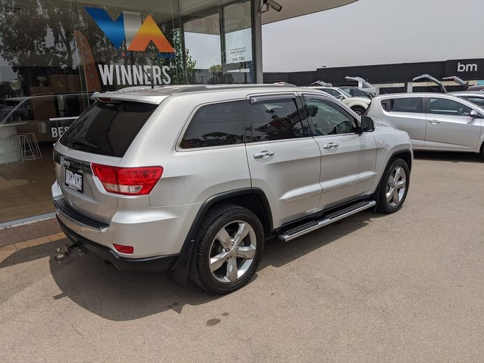 2012 Jeep Grand Cherokee Limited WK MY12 4X4 Constant Grey