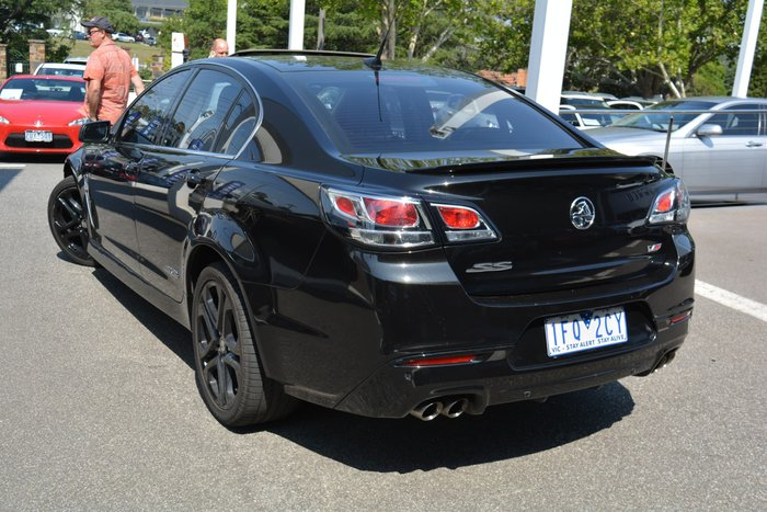 2015 Holden Commodore SS V Redline VF Series II MY16 Black