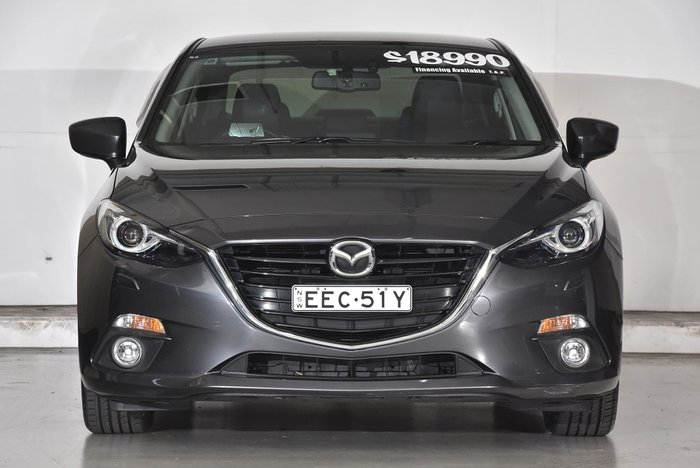 2014 Mazda 3 SP25 GT BM Series Grey