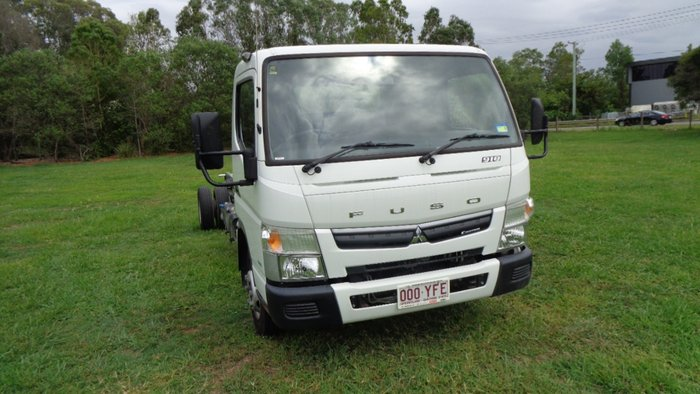 2018 Fuso Canter 918 White