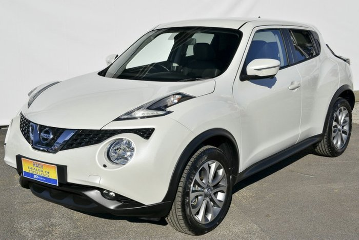 2019 Nissan JUKE Ti-S F15 MY18 4X4 On Demand IVORY PEARL