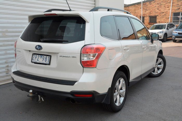2013 Subaru Forester 2.5i-L S4 MY13 Four Wheel Drive White