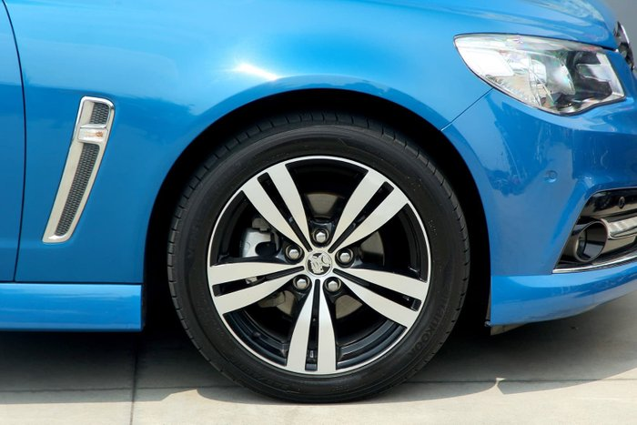 2015 Holden Commodore SV6 Storm VF MY15 Blue