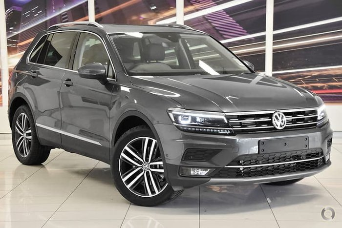 2019 Volkswagen Tiguan 162TSI Highline 5N MY20 Four Wheel Drive Grey
