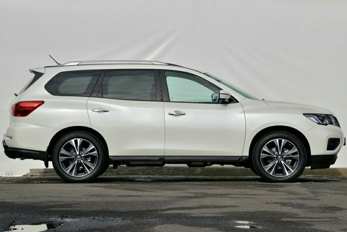 2018 Nissan Pathfinder Ti R52 Series II MY17 4X4 On Demand IVORY PEARL