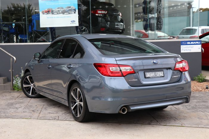 2015 Subaru Liberty 2.5i 6GEN MY15 Four Wheel Drive Grey