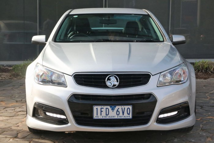 2015 Holden Commodore SV6 VF Series II MY16 Silver