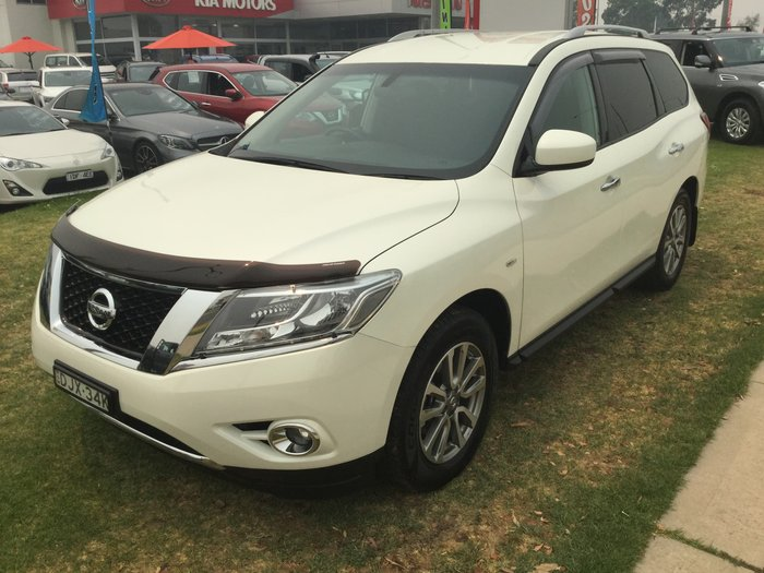 2016 Nissan Pathfinder ST R52 MY15 4X4 On Demand White