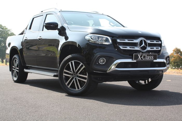 2018 Mercedes-Benz X-Class X250d Power 470 4X4 Dual Range Black