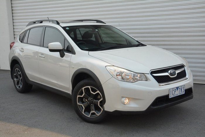 2014 Subaru XV 2.0i-L G4X MY14 Four Wheel Drive White