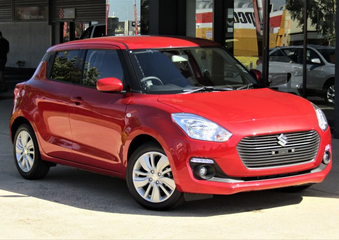 2019 Suzuki Swift GL Navigator AZ Red