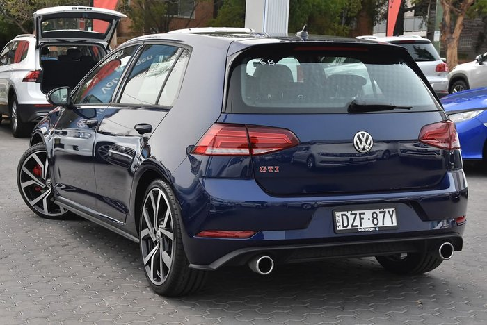 2018 Volkswagen Golf GTI 7.5 MY19 Blue