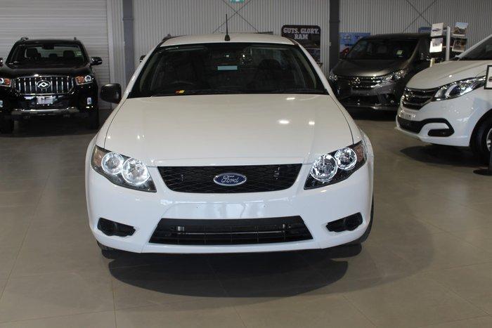 2011 Ford Falcon Ute FG MkII White