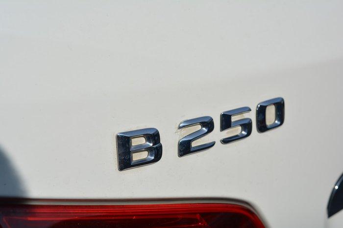 2014 Mercedes-Benz B-Class B250 W246 White