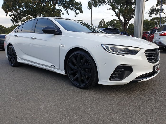 2018 Holden Commodore VXR ZB MY18 4X4 On Demand White