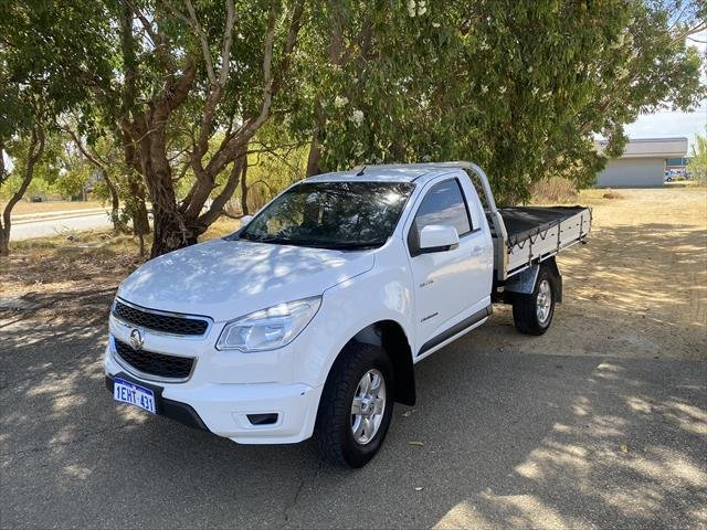 2013 Holden Colorado LX RG MY14 WHITE