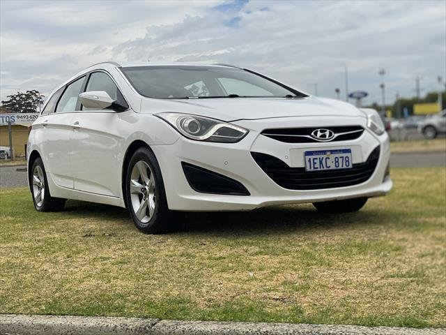 2014 Hyundai i40 Active VF2 WHITE